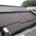 鳥取県八頭郡 瓦棒 屋根塗装 ファインルーフSi