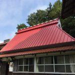 鳥取県倉吉市 トタン屋根 合掌造り
