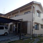 岡山県 岡山市南区 藤田 外壁塗装 塩ビシート防水 完了