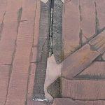 屋根塗装 岡山県都窪郡早島町 雨漏り 屋根板金改修工事