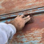 傷みの激しいトタン屋根の塗装【埼玉県入間郡越生町】