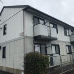 長崎県諫早市 4世帯アパート 外壁塗装