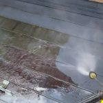 仙台市青葉区■苔・錆び・剥離の屋根…ケレン作業していきます