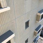 静岡 マンションのタイル壁