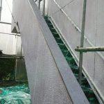 下塗り始まりました【埼玉県坂戸市;重量鉄骨3F】: