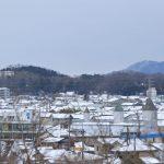 滋賀県彦根市 雪が降る前に
